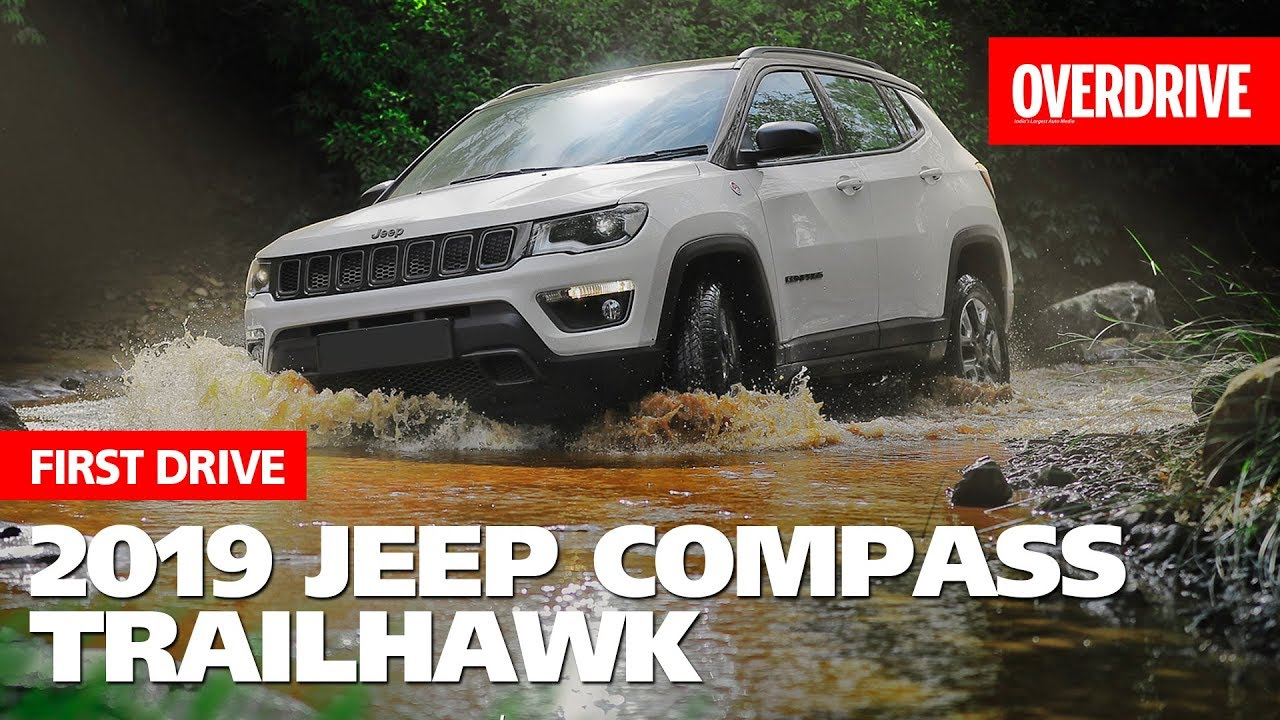Jeep Compass Trailhawk Diesel Auto First Drive Overdrive Youtube