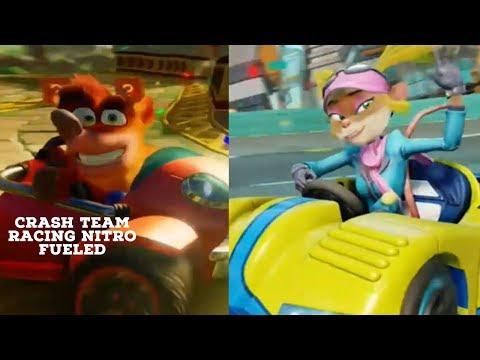 CRASH TAG TEAM RACING CHALLENGE  |Crash Team Racing Nitro Fueled