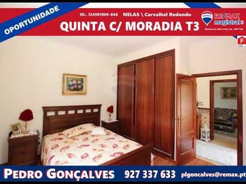 Quinta com Moradia T3 - Nelas - Carvalhal Redondo