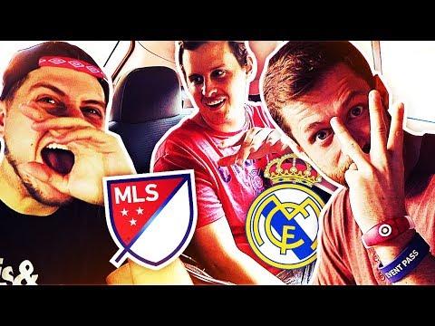 FIFA 18 ULTIMATE TEAM! REAL MADRID vs MLS ALL STARS w/ Spencer FC, Zweback, Castro & MORE!