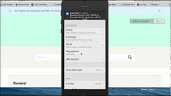 How to Set Up Email in your iPhone 5 s