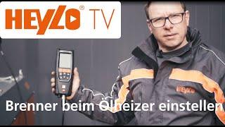 HEYLO TV: Wie stelle ich den Brenner bei einem Ölheizer optimal ein? #heylotv #Ölheizer #Brenner