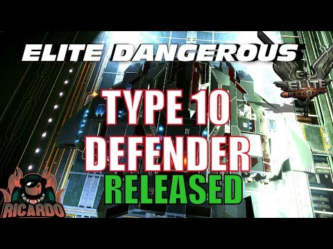 Elite: Dangerous - Type 10 Defender NEW Ship Released by Lakon