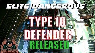Elite: Dangerous - Type 10 Defender NEW Ship Released by Lakon