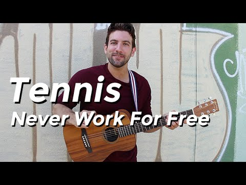 Tennis - Never Work For Free (Guitar Tutorial) by Shawn Parrotte