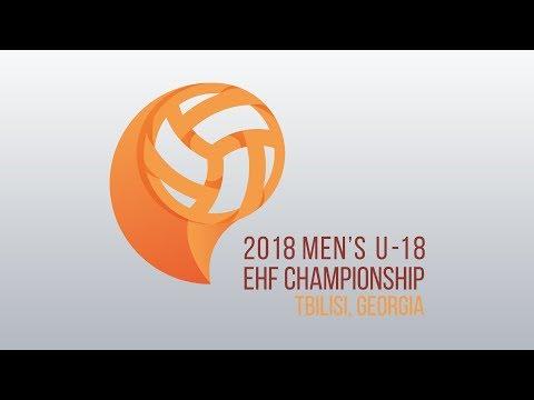 Macedonia - Switzerland (Group A) Men's U18 EHF Championship