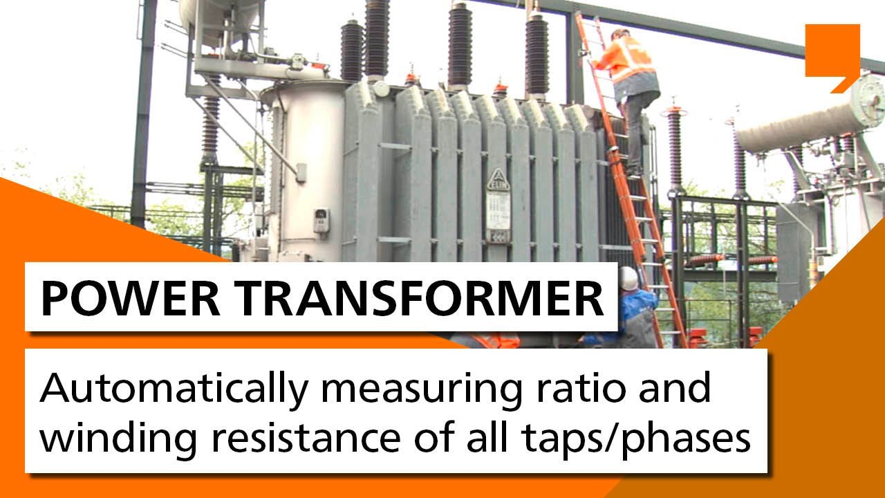 Power Transformer Testing Automatically Measuring Ratio And Open Circuit Short Test On Prepaired By Manavar Winding Resistance Of All Taps Phases Youtube