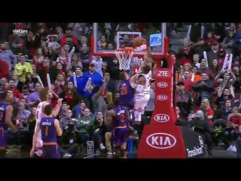 Phoenix Suns vs Chicago Bulls | February 24, 2017 | NBA 2016-17 Season