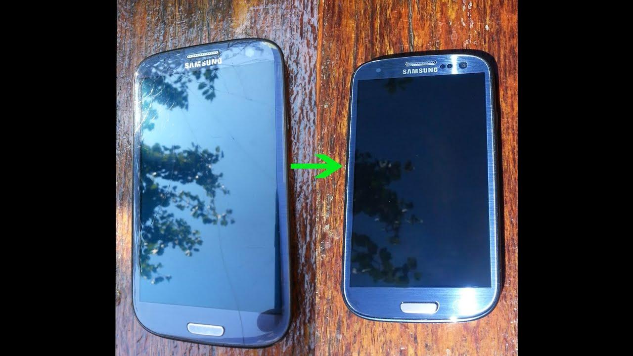 Перемещение Samsung Galaxy S3 в новый корпус вместе с AMOLED .