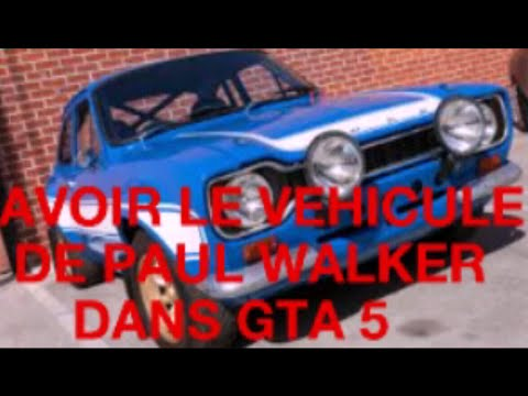 avoir la voiture de paul walker faf6 dans gta5 youtube. Black Bedroom Furniture Sets. Home Design Ideas