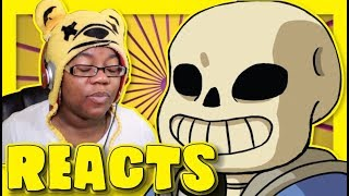 A Beautiful Day Undertale by ClearlyConfused | Animation Reaction