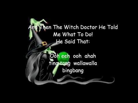 Witch Doctor~ David Seville ( Lyrics)