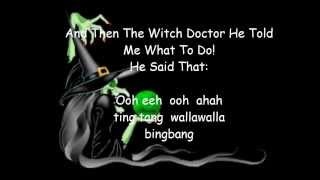 Witch Doctor~ David Seville ( Lyrics)