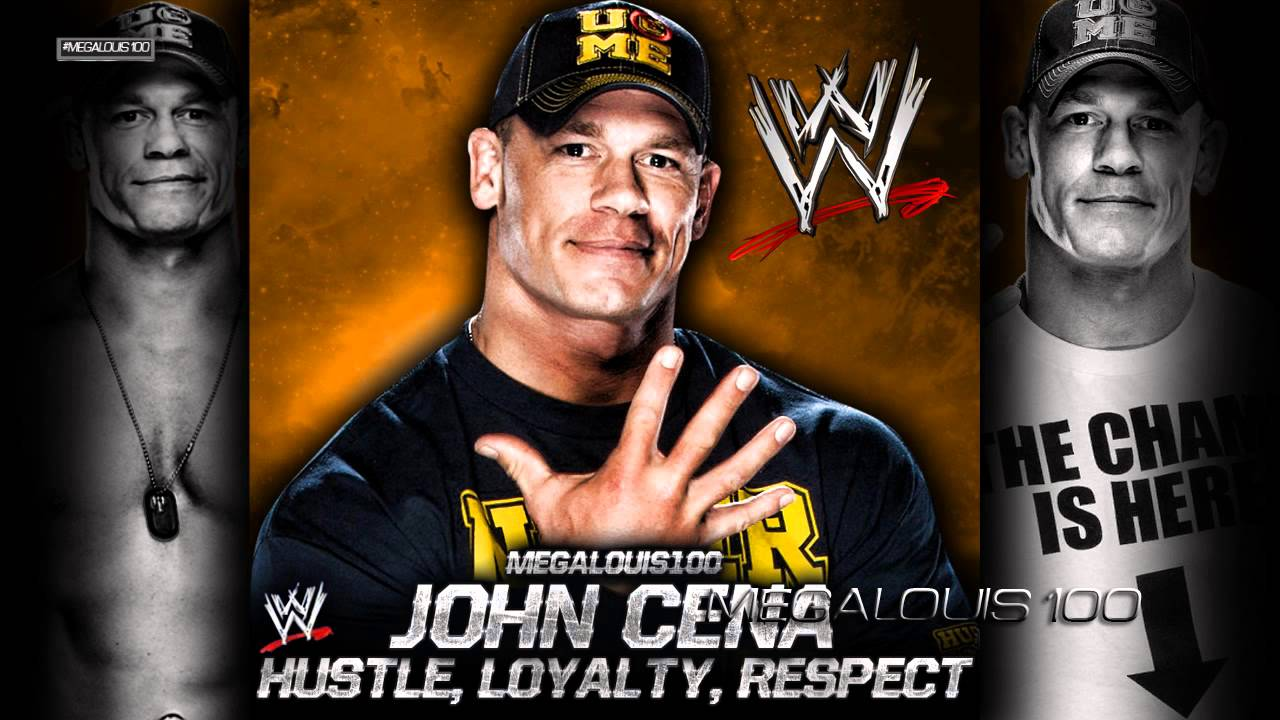 John Cena Hustle Loyalty Respect Wallpaper