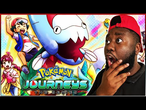 Ash Catches FIRST EVER FOSSIL DRACOVISH! | Pokemon Journeys Episode 50 REACTION!