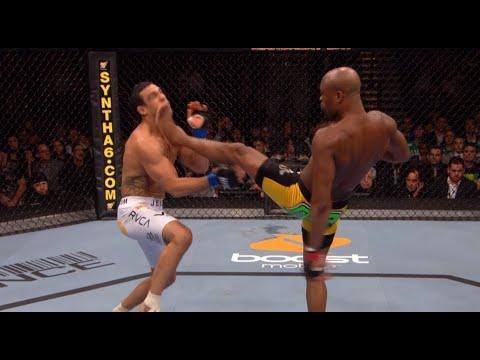Все финиши Андерсона Силвы в UFC