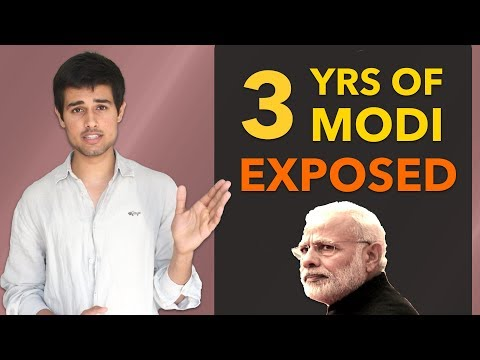 3 years of Modi Government Analysis   Exposed by Dhruv Rathee