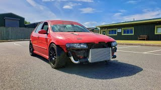 Fitting a FRONT MOUNT INTERCOOLER to the Cupra
