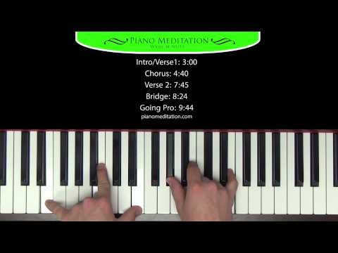 Because He Lives (Amen) - Matt Maher - How to Play on Piano