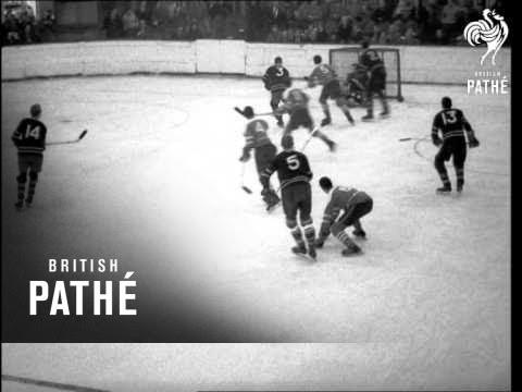 Oxford V. Cambridge Ice Hockey Match (1960)