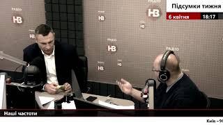 Віталій Кличко про ремонт доріг, незаконне будівництво, а також про президентські вибори