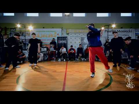 Dance The World 2 / Top16 Bboying 3vs3 / CoolKids Flavour vs Black Wolves Crew