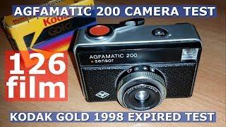 126 Film - Agfamatic 200 / Kodak Gold 200