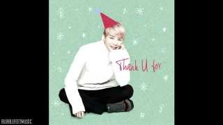 XIA Junsu - Thank U For (Full Audio) (Link DL mp3)
