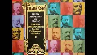 チャイコフスキー交響曲第6番 「悲愴」 ロストロポーヴィチ / ロンドン...
