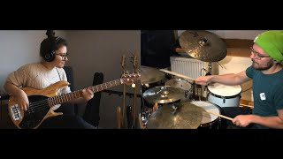 Kirk Franklin - Love Theory (Bass & Drum Cover)