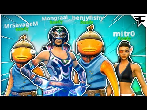 you see this squad running at you, wyd? (Mongraal & Mitr0 in Friday Fortnite)