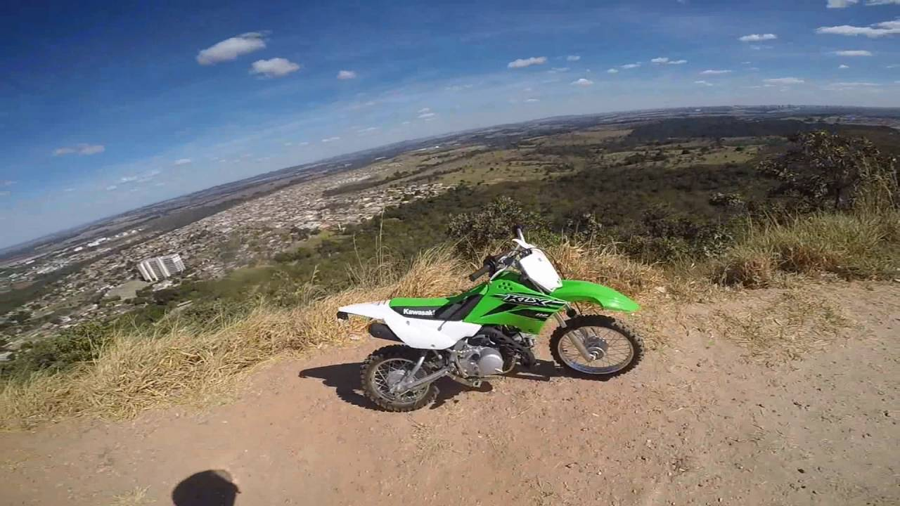 kawasaki klx 110 - pit bike - youtube
