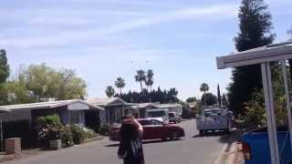 Dwayne The Rock Johnson San Andreas Helicopter Chase Bakersfield California