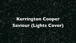 Saviour (Rock Cover) Lights - Kerrington Cooper