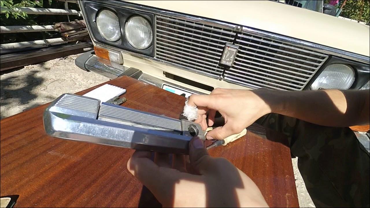 Замена личинки замка двери ВАЗ 2106 (классика) и доработка посадочного места