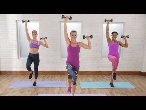 10-Minute Strapless Dress Arm Workout to Tighten and Tone | Class FitSugar