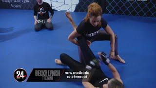 Baixar Becky Lynch's MMA training for WrestleMania (WWE 24 Extra)