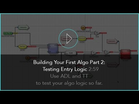 Building Your First Algo: Section 2