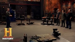Forged in Fire: The Ice Block Test (S2, E1) | History