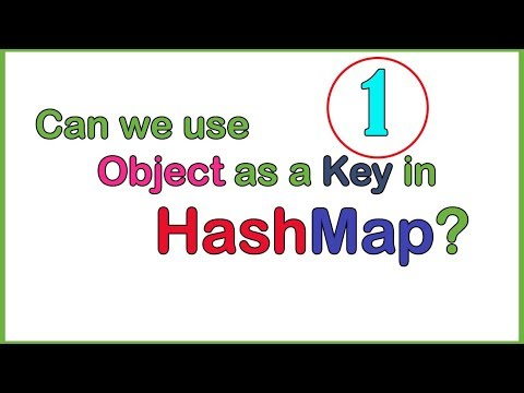 Object As A Key In HashMap Example 1