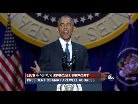 FULL: President Barack Obama's Farewell Address (Jan. 10, 20