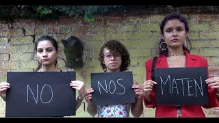 Querida Muerte (No Nos Maten) Lyrics Video - Renee Goust