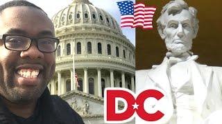 MY WASHINGTON D.C. TRIP and HAMILTON RAP FAIL - Andre Vlog