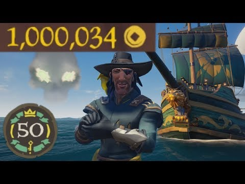 Sea of Thieves - 1 MILLION GOLD ACHIEVED!