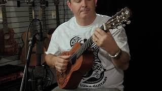 Six String Ukulele demo by Luna - UKE TAT 6 MAH