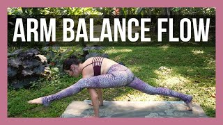 Arm Balance Flow - Journey to Eka Pada 2 {35 min}