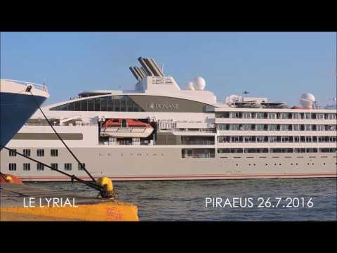 LE LYRIAL departure from Piraeus Port