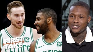 Download 'I sacrificed my talent' playing with Kyrie Irving and Gordon Hayward – Terry Rozier | First Take Mp3 and Videos