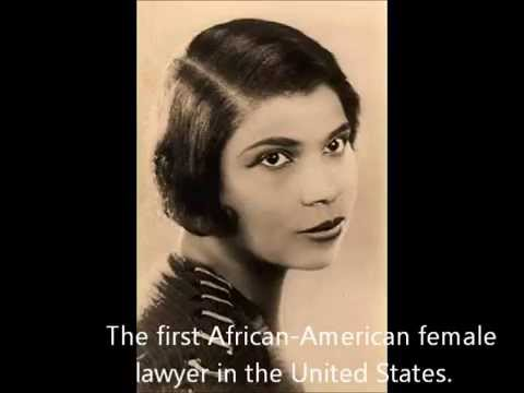 Charlotte E Ray: The First African-American female lawyer