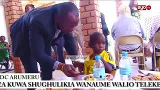 DC Jerry Muro nae kuwashughulikia Wanaume waliotelekeza Watoto